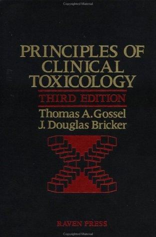 Download Principles of clinical toxicology
