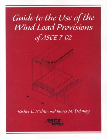 Guide to the Use of the Wind Load Provisions of ASCE 7-02, Mehta, Kishor C.; Delahay, James