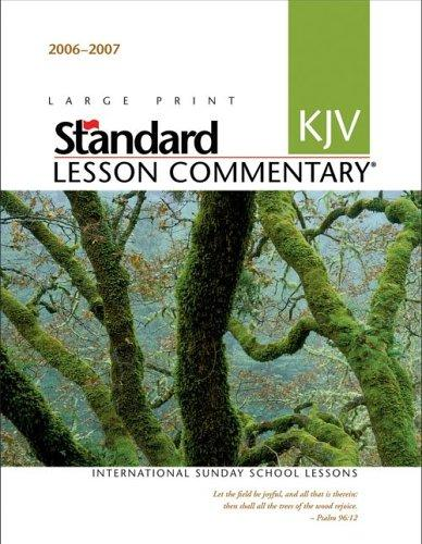Download Standard KJV Lesson Commentary 2006-2007