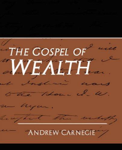 Download The Gospel of Wealth (New Edition)