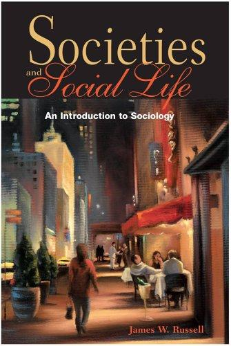 Societies and social life