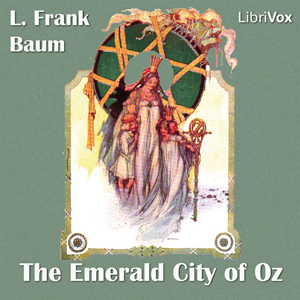 Emerald City of Oz(337) by L. Frank Baum audiobook cover art image on Bookamo