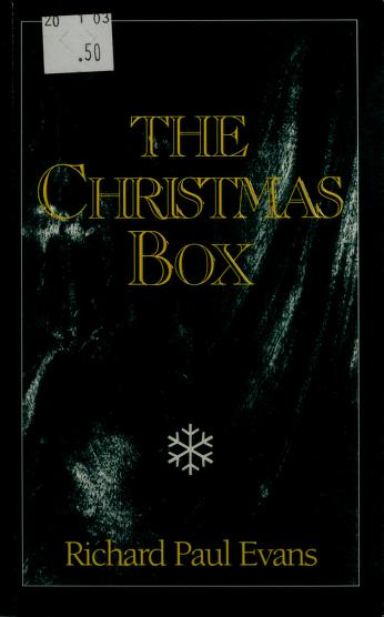 Cover of: The Christmas box | Marcus Cole, Greg Taylor
